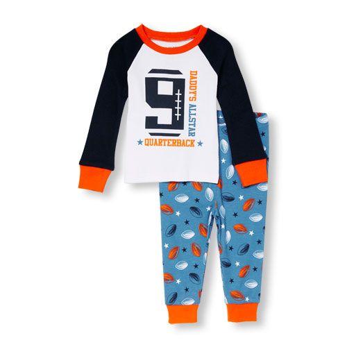 The Childrens Place Baby Boys Print Pajamas Sets