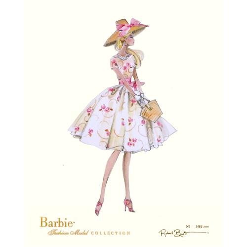 Vintage Barbie Print