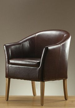 Brown Leather Tub Chairs Uk