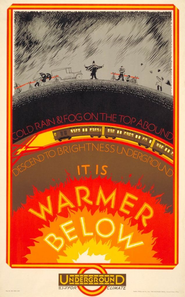 1920s London Underground Posters Remind Us That