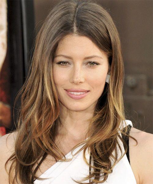 Balayage Jessica Biel Hair