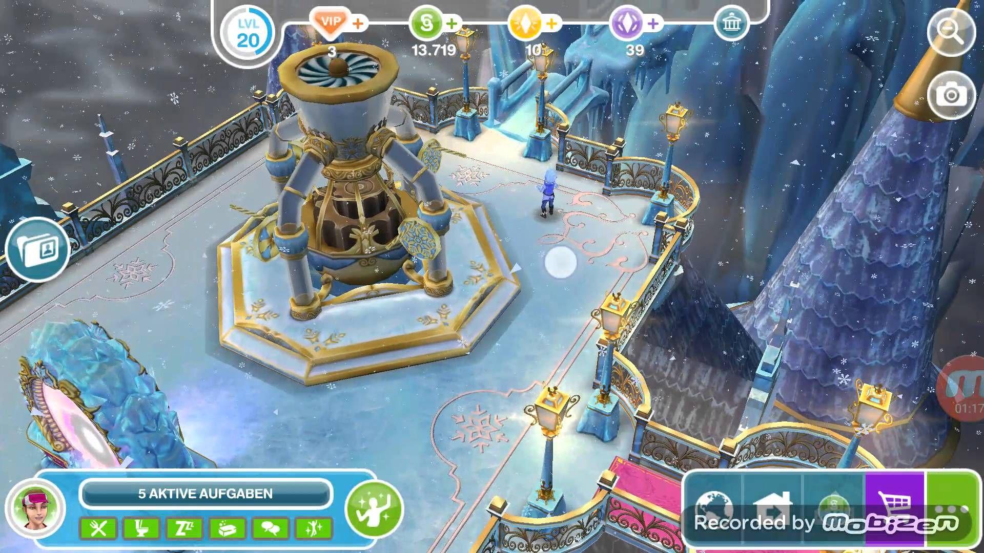 Frostschutzzauber Von Der Eiskönigin Lets Play Sims Freeplay 49