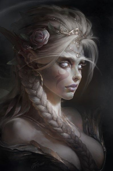 Simply remarkable sexy elf fantasy art