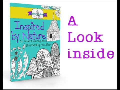 A Look Inside Inspired By Nature Coloring Isnt Just For Kids Anymore Adults