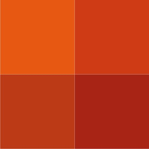 Terracotta Colour Chart