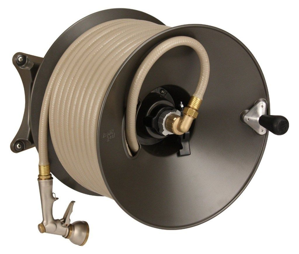 Top Rated Garden Hose Reel Buying Guide The Eley Rapid Reel Wall Mount Garden Hose Reel Hose Reel Garden Hose