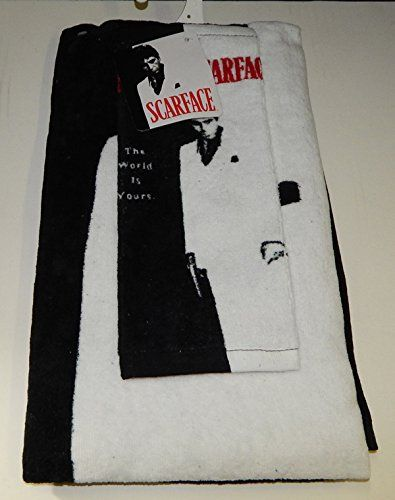 Scarface Bath And Hand Towel Set