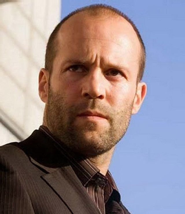 25 Cool Short Hairstyles For Balding Men Jason Statham Bald Men Balding Mens Hairstyles