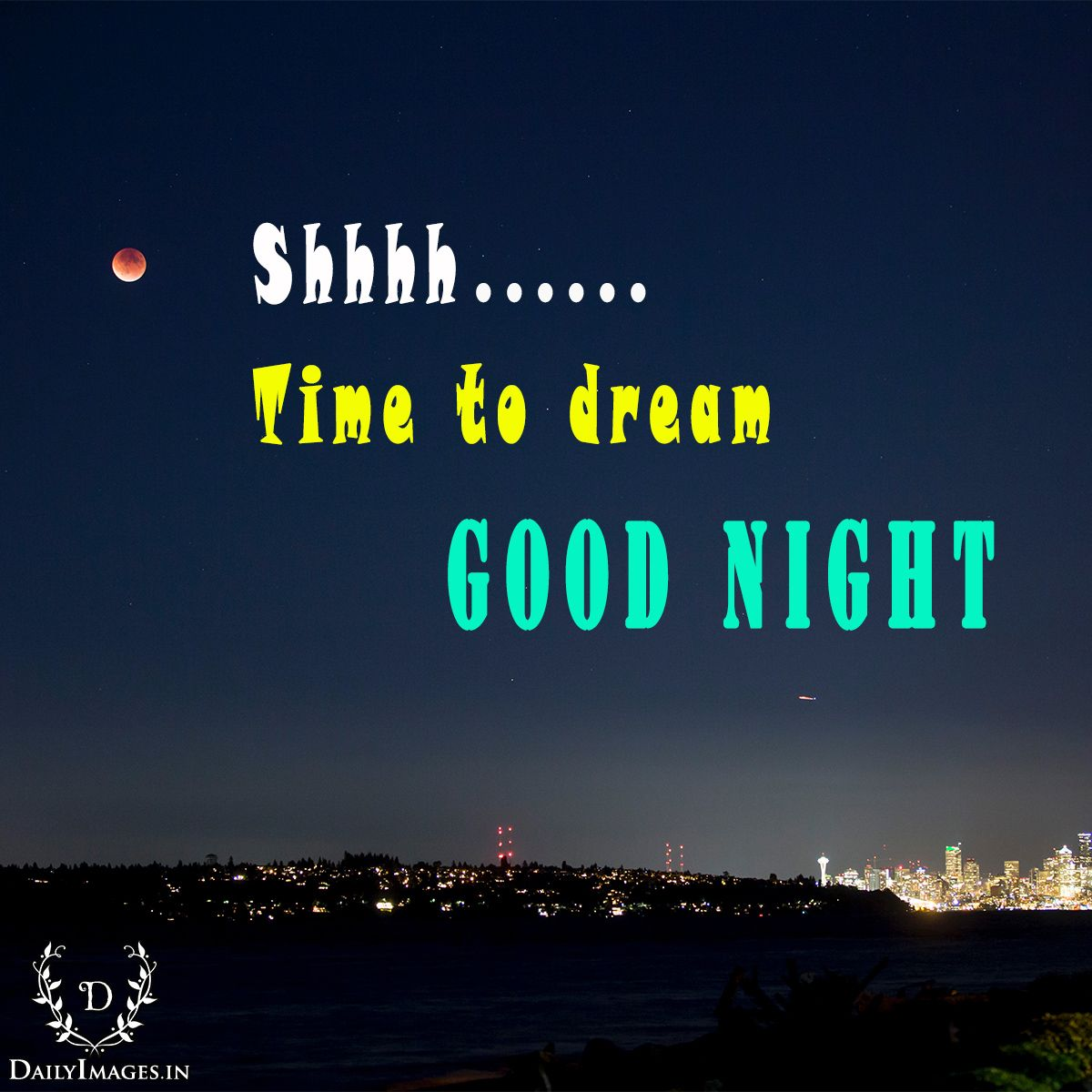 shhhh time to dream… good night  #goodnight #gn #quotes