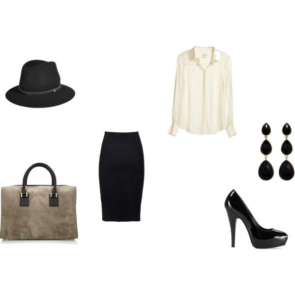 A fashion look from November 2011 featuring Reiss blouses, Nicole Farhi skirts and Vince Camuto pumps. Browse and shop related looks.