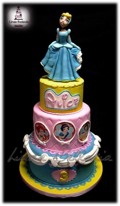 Linda Bellavia Cake Art Disney Princess
