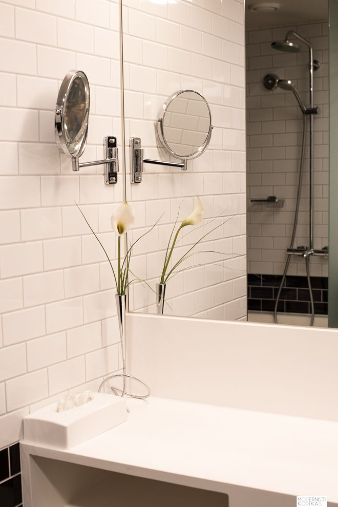Kylpyhuoneinspiraatio hotellista