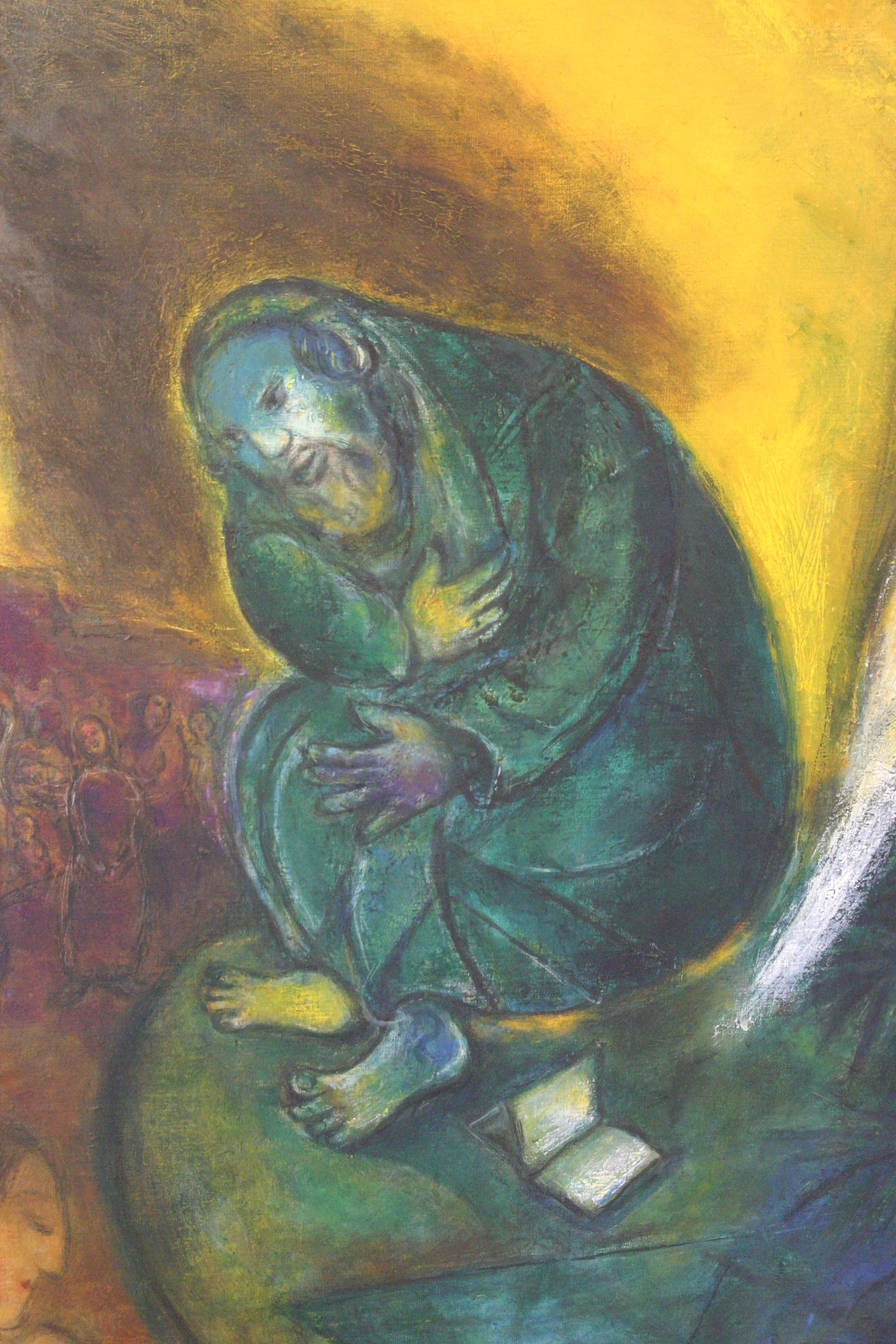 Marc Chagall - The Prophet Jeremiah   Chagall (Marc ... Chagall Gouaches Jeremia