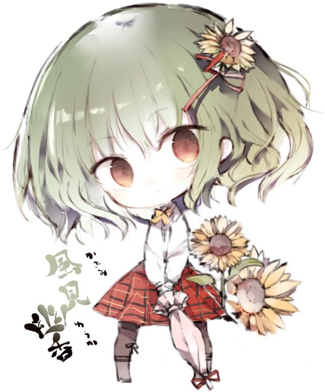 touhou project yuuka kazami artwork by kotatu akaki01aoki00 anime anime chibi anime images