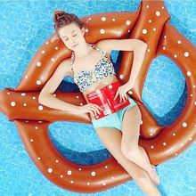 3 People 60 inch Gigantic Donut Pool Inflatable Floats pool toys Swimming Float Floats inflatable Doughnut Swim Ring Water Toy(China (Mainland))