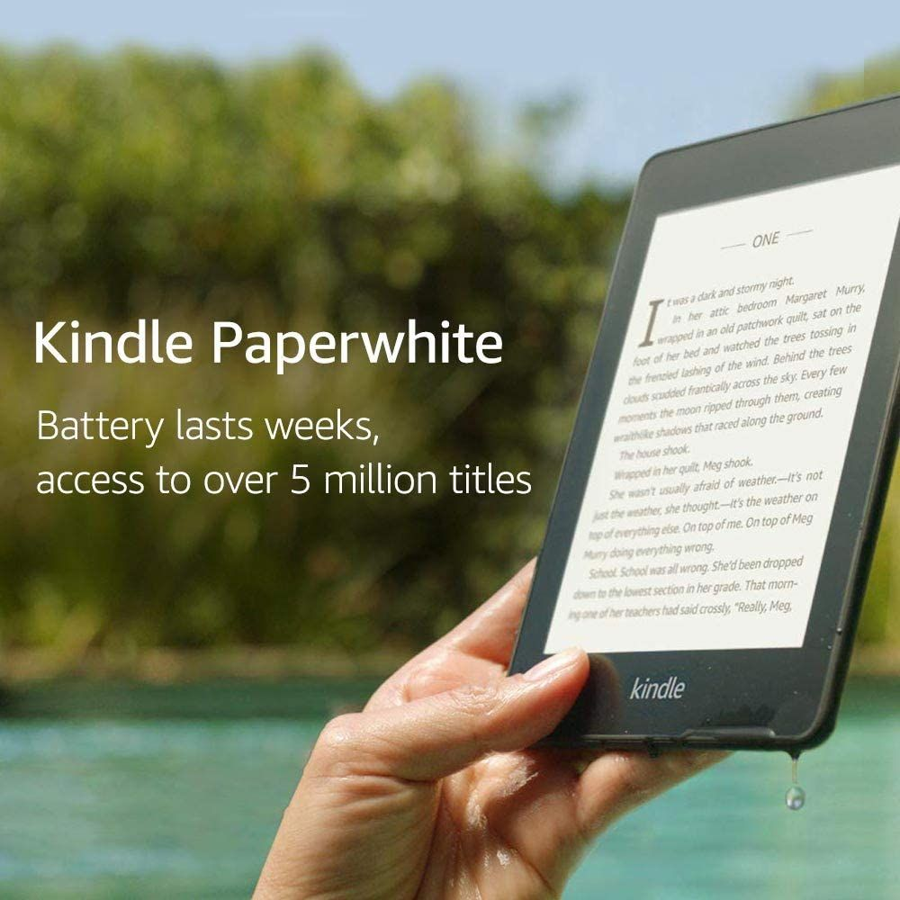 The New Version Of The Original Basic Kindle For 33 Off With A Built In Light That Ll Make It Possible To Indulge In Your Favor Kindle Book Reader Best Kindle
