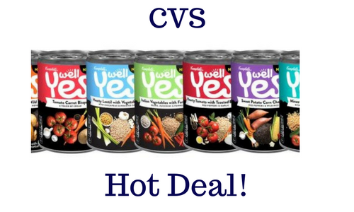 Campbells Well Yes! Soup ONLY .50 CVS! (With images