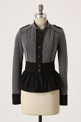 """ANTHROPOLOGIE """"Thatcher Jacket"""" by Daughters of the Liberation"""