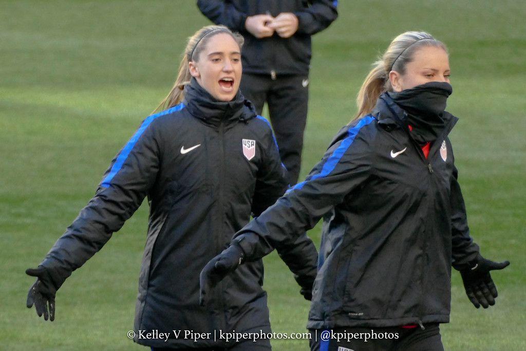 Morgan Brian, Lindsey Horan || SheBelieves Cup - USAvENG (03.04.2017)