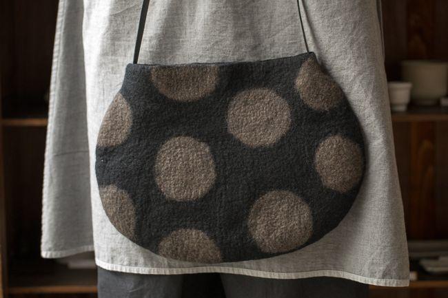 布・衣服 - ギャラリー|季の雲 | Валяние, Сумочка, Сумки