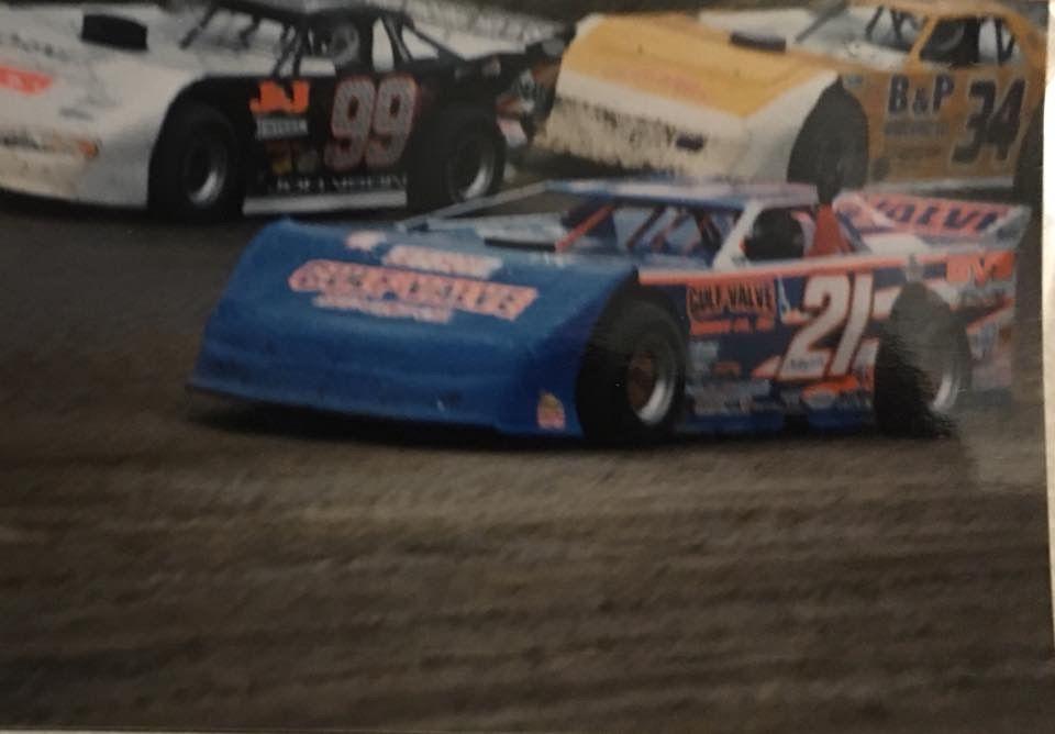 Billy Moyer 21 and Johnny Johnson 99 Tony Hammett Photo | Racing ...