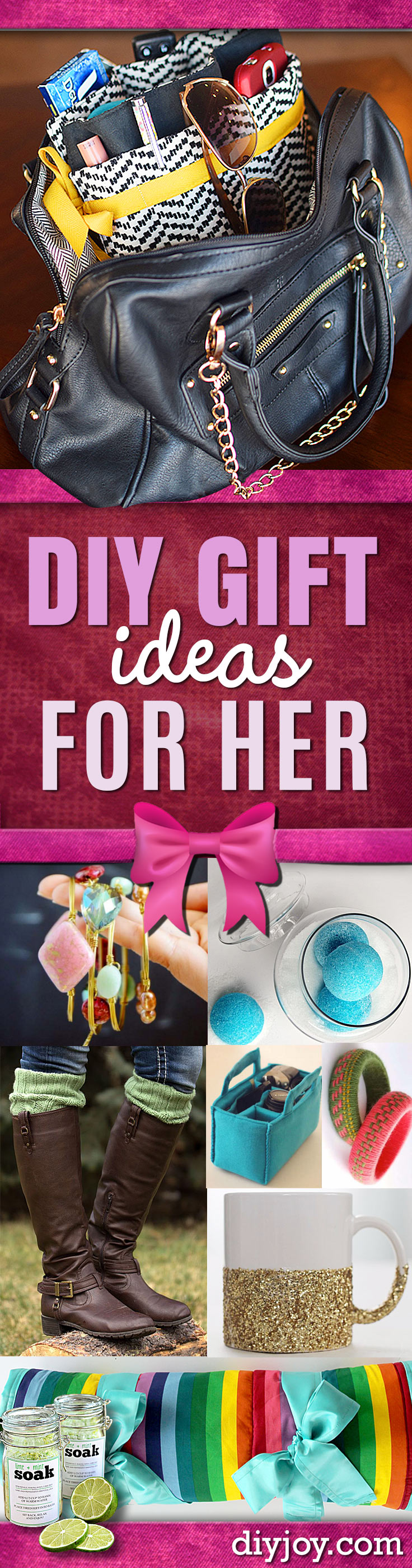 DIY Gift Ideas for Her Diy gifts for girlfriend