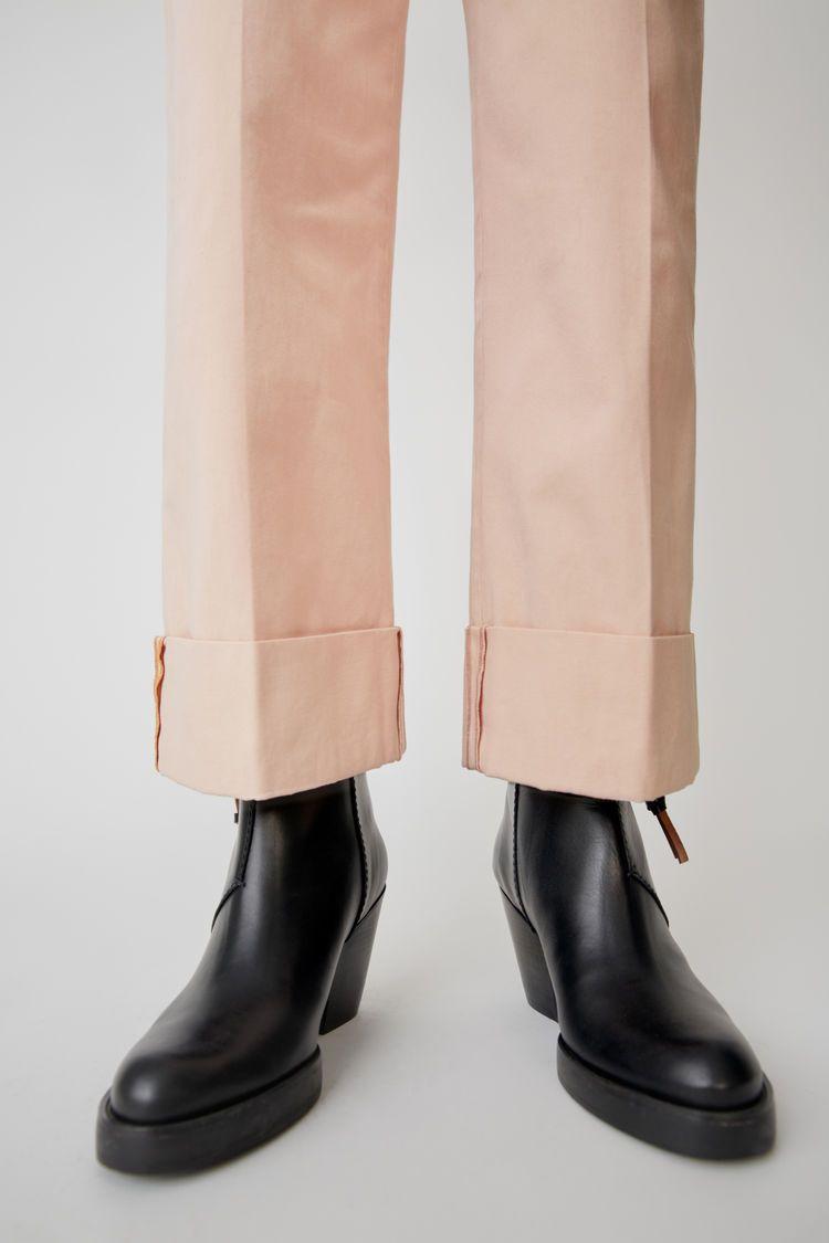 Acne Studios Stacked heel boot Black | Black heel boots