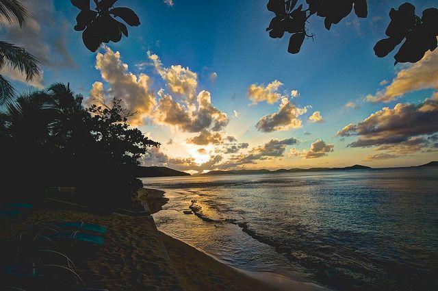 Sunset at Mango Bay, Virgin Gorda by Ronald T Brown, via Flickr
