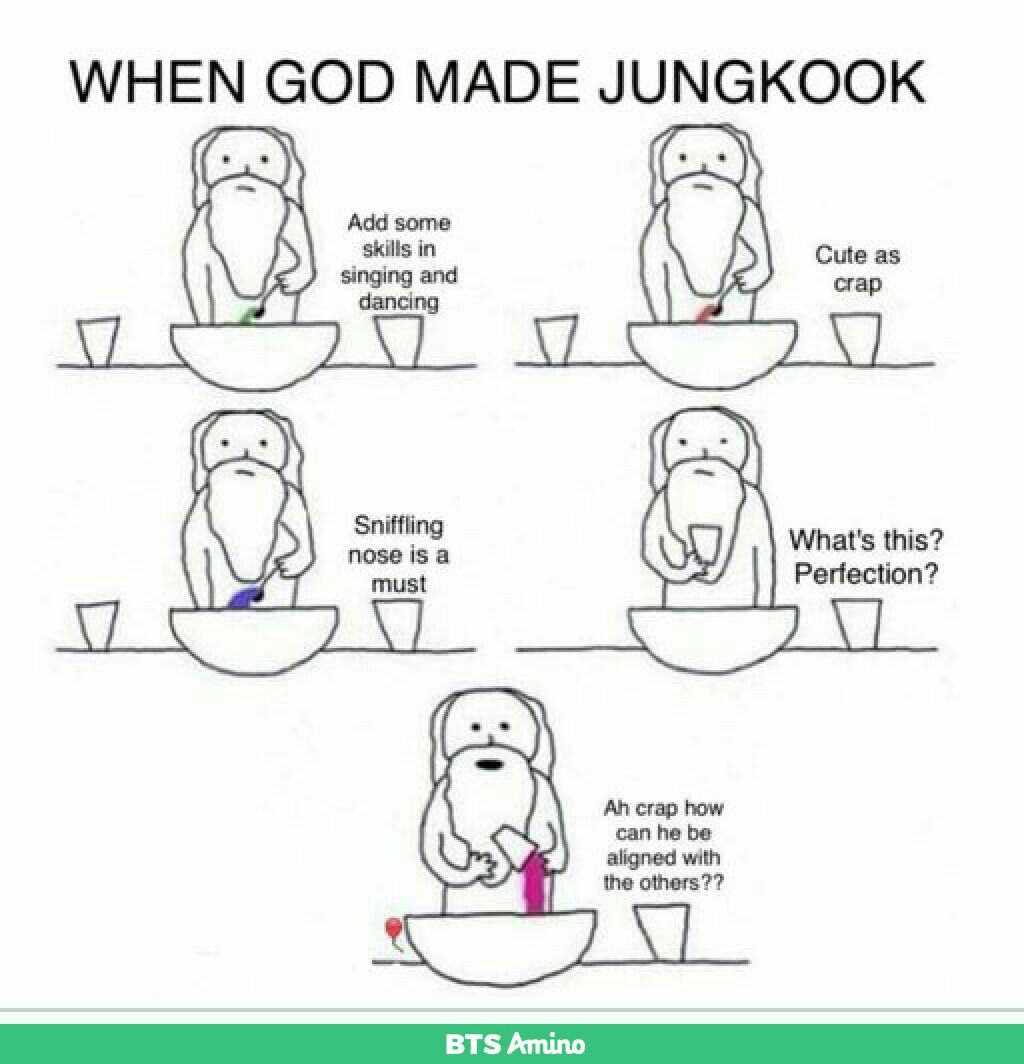 When God made Jungkook #happybirthdayjungkook