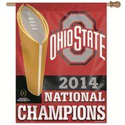 """Ohio State Buckeyes WinCraft 2014 College Football Playoff National Champions 27"""" x 37"""" Vertical Banner"""