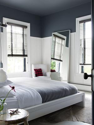 creatief met verf gekleurd plafond 365 woonideen slaapkamer slaapkamerdecoratie slaapkamers muurschildering
