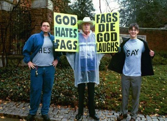 Tea party class action homosexuality