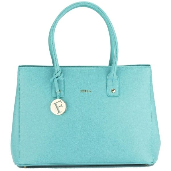 b14e9ac54a59 Pre-owned Furla Laguna Green Linda Convertible (new With Tags) Tote...  ( 273) ❤ liked on Polyvore featuring bags