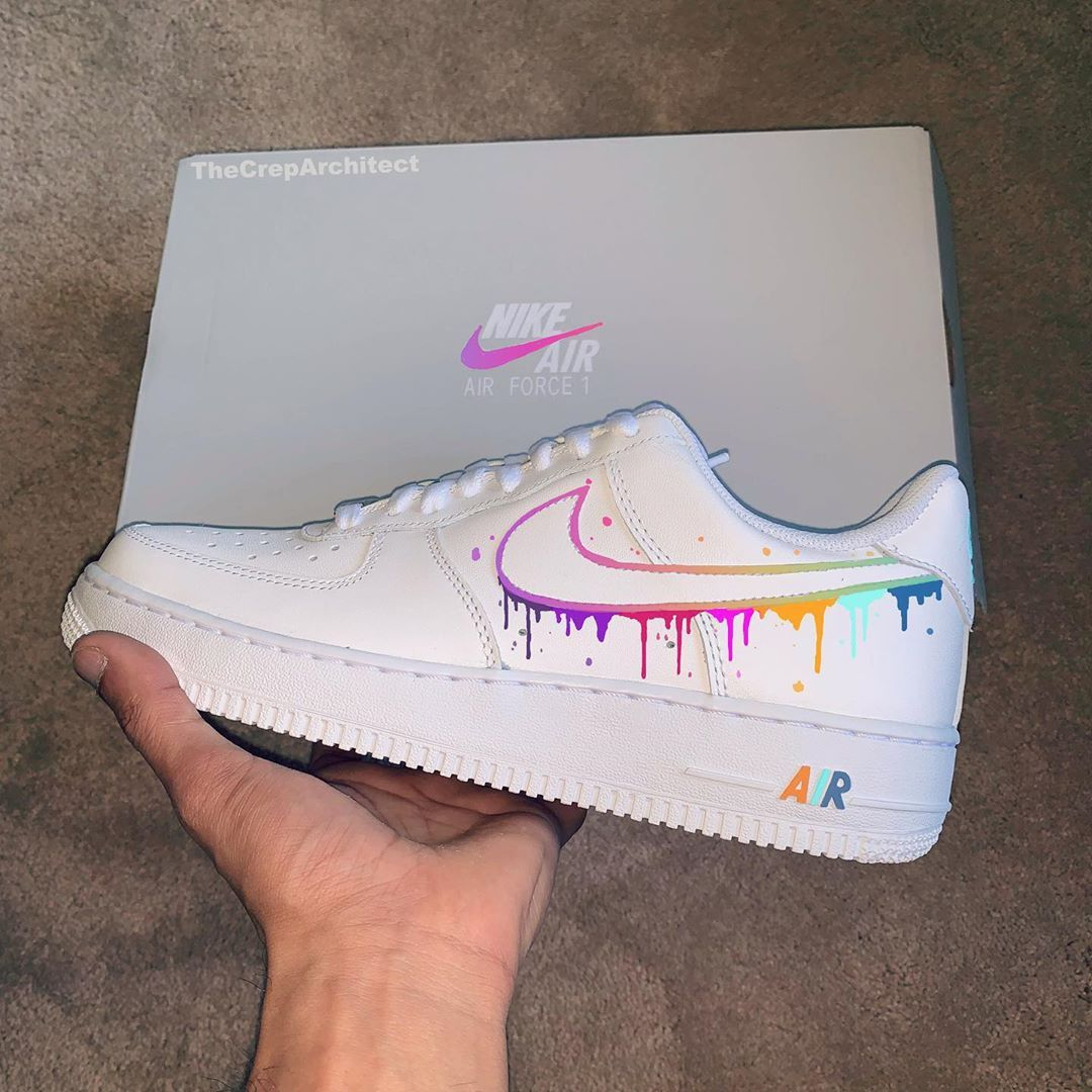 "The Crep Architect 🖌 on Instagram ""Multi Drip AirForce1's"