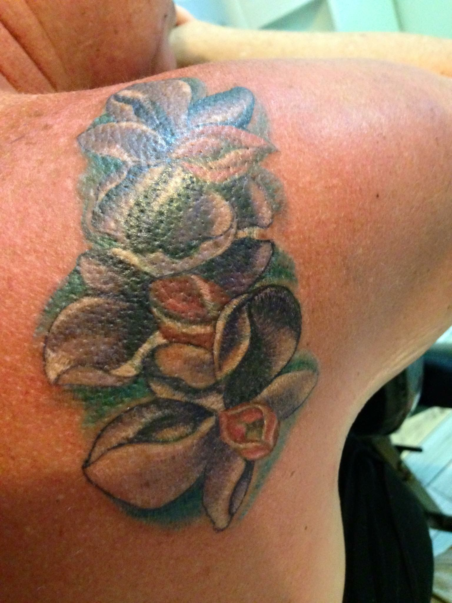After Tattoo By Bamboo Method By Keng Bamboo Tattoos By Keng Of