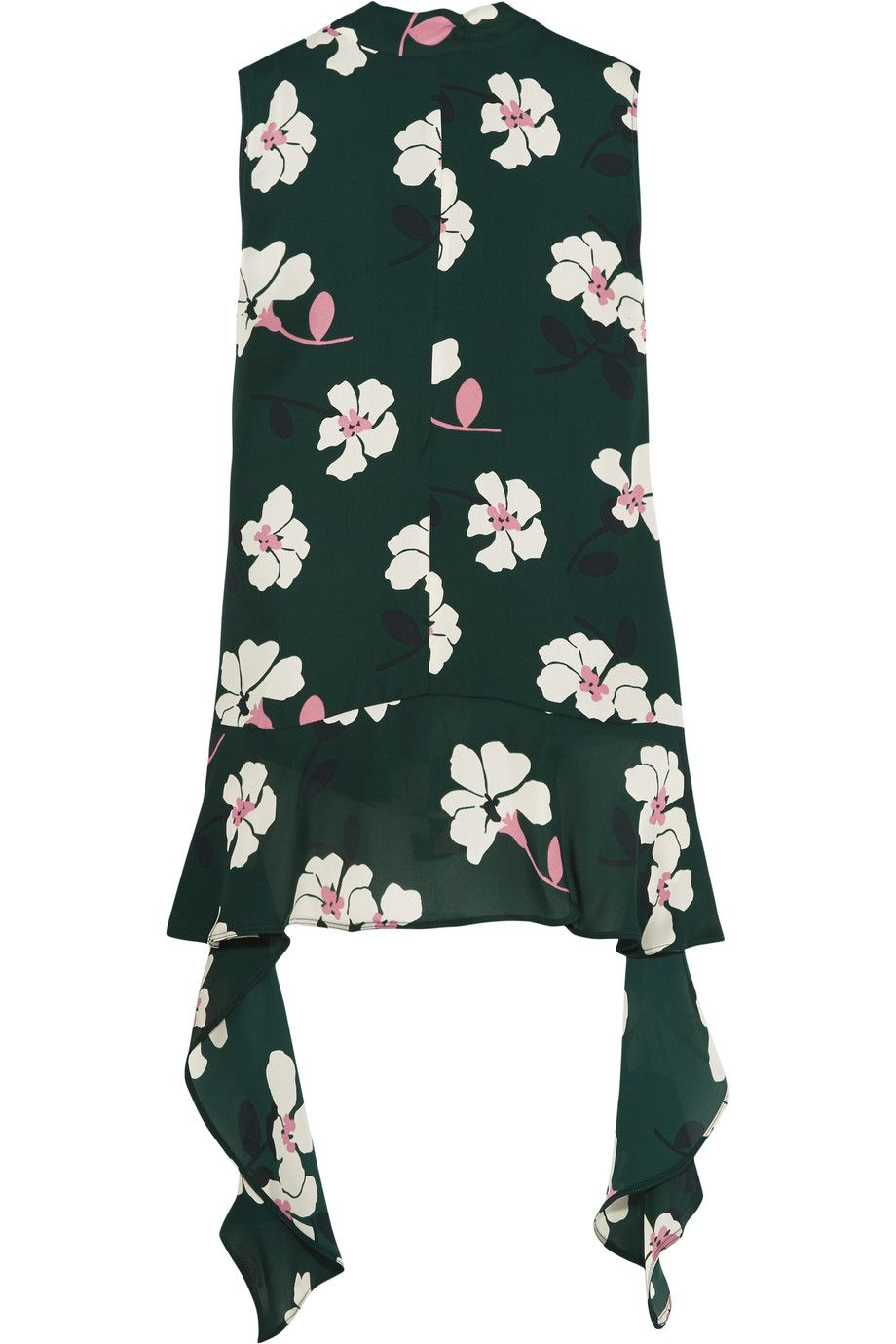 Floral-printed silk blouse Marni Sale Cheapest Price Outlet Cheap Price Sale Best Sale Discount Shopping Online Discount Sale lxdO3zYny8
