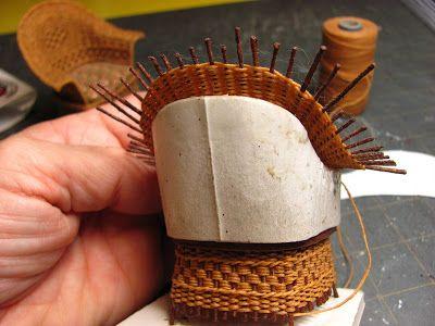 Genial Dollhouse Miniature Furniture   Tutorials | 1 Inch Minis: 1 INCH SCALE WICKER  CHAIR TUTORIAL   How To Make A 1 Inch Scale Wicker Chair For Your Dolu2026