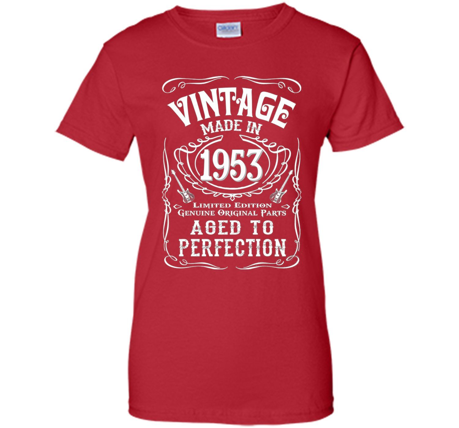 Vintage Made In 1953 Birthday Gift Idea T Shirt