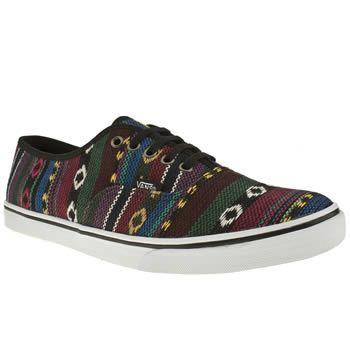 1b5531265f Black Aztec Vans