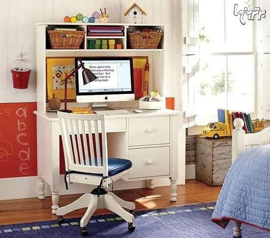 Madeline Storage Desk Hutch: راهنمای خرید میز تحریر استاندارد (9 عکس)
