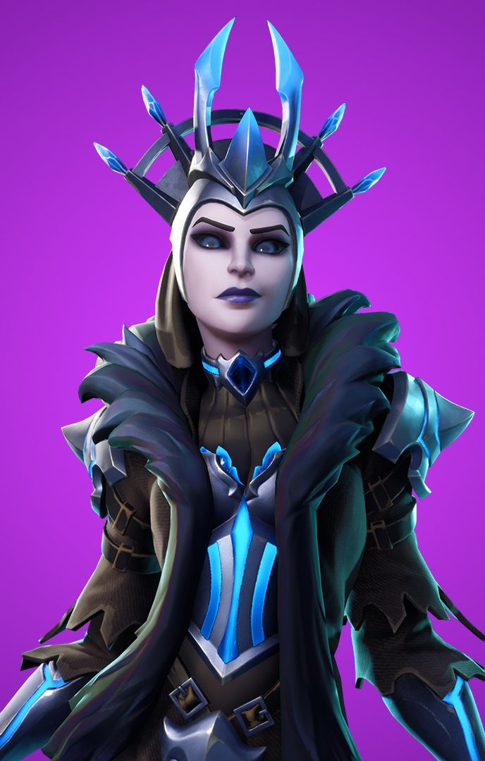 Ice Queen character from Fortnite video game on Xbox One 6dfd12e14