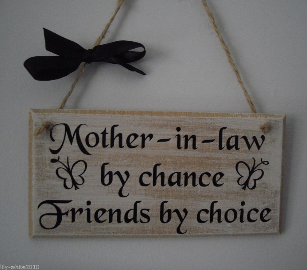 Details about wall plaque mother in law daughter in law