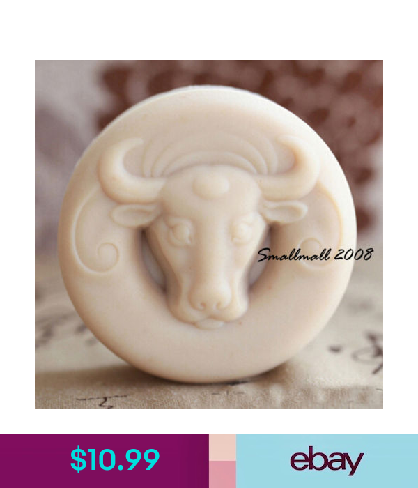 929 Steer Skull Western Silicone Mold Soap Candle Resin Fondant Gum Paste Clay