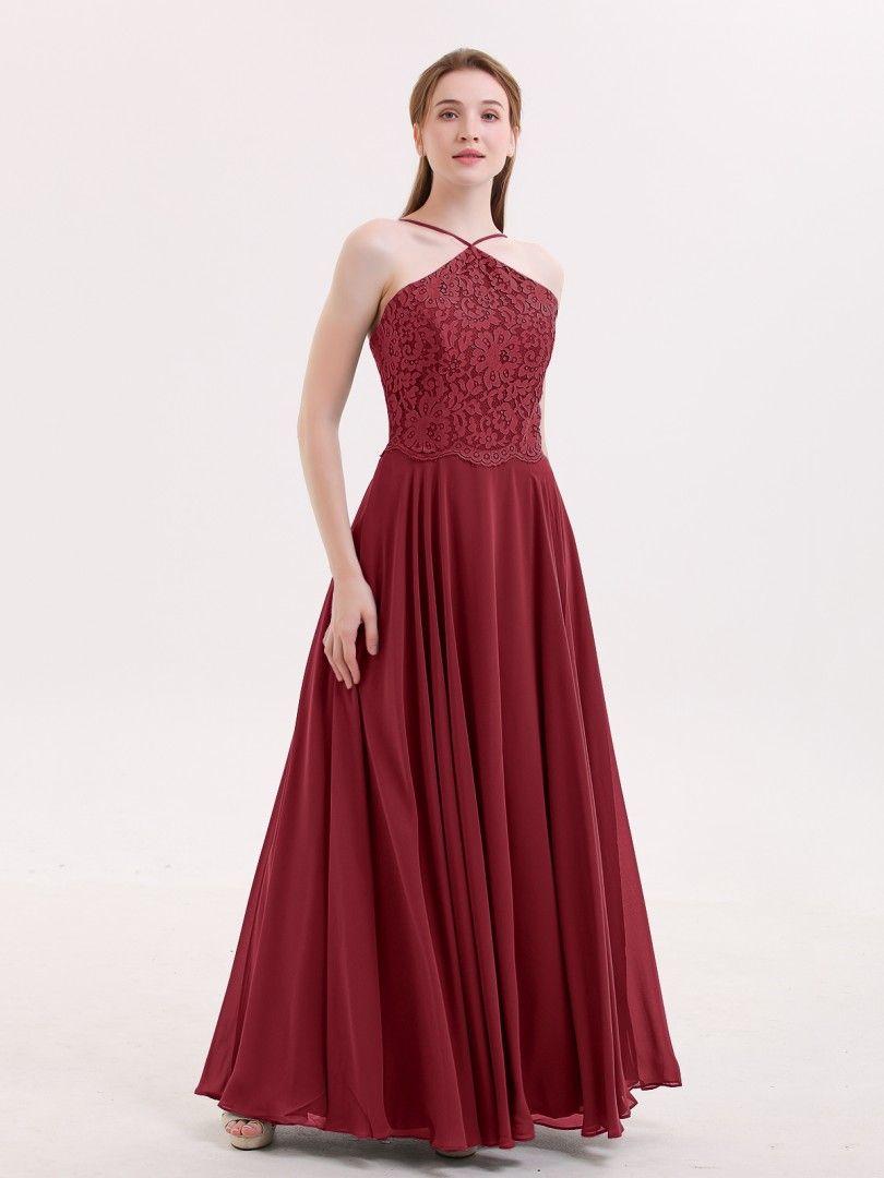 d03546bf0b9 Babaroni Tallulah Lace and Chiffon Bridesmaid Dress