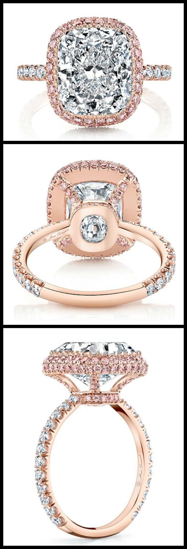 Ring roundup: rose gold engagement rings | Cushion cut, Engagements ...