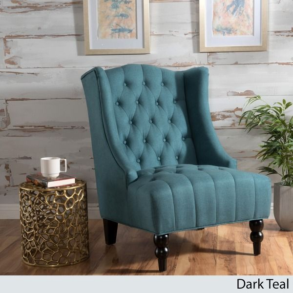 Strange Toddman Fabric High Back Club Chair By Christopher Knight Machost Co Dining Chair Design Ideas Machostcouk