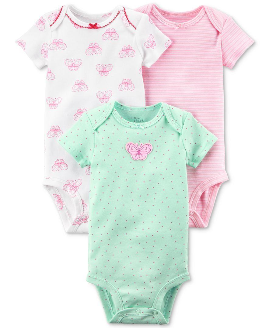d1418a59d08c8 Gerber Organic Preemie 3-Pack Organic Cotton Bunny Bodysuits ...