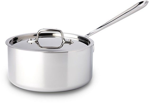 Stainless Steel 3 Quart Saucepan With Lid In 2020 Stainless Steel Cookware Steel