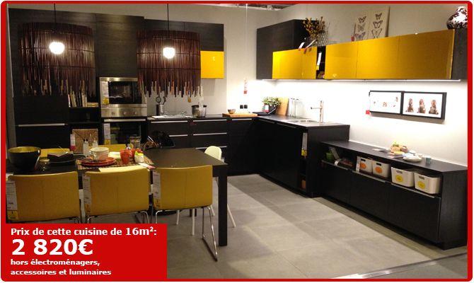 Bien-aimé Prix De Cuisine Ikea. Elegant Fantastique Ikea Cuisine Equipee  XL62