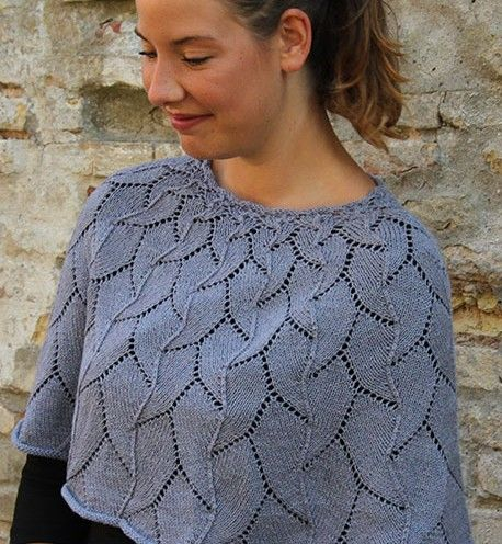 Botanical Knitting Patterns Knitted Capelets Pinterest Lace